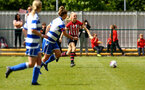SOUTHAMPTON, ENGLAND - MAY 19: Kelly Fripp (right) during the Womens Cup Final match between Southampton FC and Oxford pictured at AFC Totten on May 19, 2019 in Southampton, England. (Photo by James Bridle - Southampton FC/Southampton FC via Getty Images)