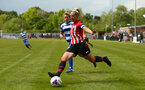 SOUTHAMPTON, ENGLAND - MAY 19: Shelly Proven during the Womens Cup Final match between Southampton FC and Oxford pictured at AFC Totten on May 19, 2019 in Southampton, England. (Photo by James Bridle - Southampton FC/Southampton FC via Getty Images)