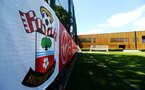 SOUTHAMPTON, ENGLAND - JULY 01: General view of Staplewood Training Ground Pitch 1 pictured at Staplewood Complex on July 01, 2019 in Southampton, England. (Photo by James Bridle - Southampton FC/Southampton FC via Getty Images)