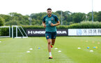 SOUTHAMPTON, ENGLAND - JULY 01: Wesley Hoedt during pre season testing pictured at Staplewood Complex on July 01, 2019 in Southampton, England. (Photo by James Bridle - Southampton FC/Southampton FC via Getty Images)