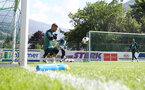 SCHRUNS, AUSTRIA - JULY 10: Fraser Forster during a pre season training session on July 10, 2019 in Schruns, Austria. (Photo by Matt Watson/Southampton FC via Getty Images)