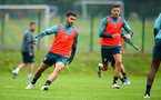 SCHRUNS, AUSTRIA - JULY 12: Shane Long during a Southampton FC pre season training session on July 12, 2019 in Schruns, Austria. (Photo by Matt Watson/Southampton FC via Getty Images)
