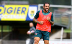 SCHRUNS, AUSTRIA - JULY 12: Danny Ings during a Southampton FC pre season training session on July 12, 2019 in Schruns, Austria. (Photo by Matt Watson/Southampton FC via Getty Images)