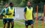 SCHRUNS, AUSTRIA - JULY 13: Danny Ings during a Southampton FC pre season training session on July 13, 2019 in Schruns, Austria. (Photo by Matt Watson/Southampton FC via Getty Images)