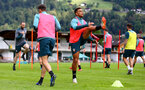 SCHRUNS, AUSTRIA - JULY 13: Che Adams during a Southampton FC pre season training session on July 13, 2019 in Schruns, Austria. (Photo by Matt Watson/Southampton FC via Getty Images)