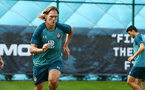 SOUTHAMPTON, ENGLAND - JULY 16: Jannik Vestergaard during a Southampton FC  training session at Staplewood Complex on July 16, 2019 in Southampton, England. (Photo by James Bridle - Southampton FC/Southampton FC via Getty Images)