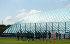SOUTHAMPTON, ENGLAND - JULY 16: general view during a Southampton FC  training session at Staplewood Complex on July 16, 2019 in Southampton, England. (Photo by James Bridle - Southampton FC/Southampton FC via Getty Images)