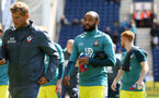 PRESTON, ENGLAND - JULY 20: Nathan Redmond ahead of the pre-season friendly game between Preston North End and Southampton FC pictured at Deepdale on July 20, 2019 in Preston, England. (Photo by James Bridle - Southampton FC/Southampton FC via Getty Images)