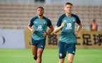 Che Adams during a Southampton FC training session while on their Pre Season trip to Macau, China, 22nd July 2019