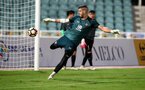 Fraser Forster during a Southampton FC training session while on their Pre Season trip to Macau, China, 22nd July 2019