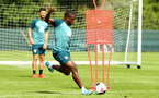 DUBLIN, ENGLAND - JULY 27: Michael Obafemi during a Southampton FC Training session pictured at Carton House Spa and Resort for Pre-Season Training on July 27, 2019 in Southampton, England. (Photo by James Bridle - Southampton FC/Southampton FC via Getty Images)