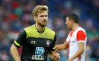 ROTTERDAM, NETHERLANDS - JULY 28: Stuart Armstrong of Southampton during the pre season friendly match between Feyenoord and Southampton FC at De Kuip on July 28, 2019 in Rotterdam, Netherlands. (Photo by Matt Watson/Southampton FC via Getty Images)