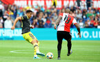 ROTTERDAM, NETHERLANDS - JULY 28: Ché Adams(L) of Southampton during the pre season friendly match between Feyenoord and Southampton FC at De Kuip on July 28, 2019 in Rotterdam, Netherlands. (Photo by Matt Watson/Southampton FC via Getty Images)