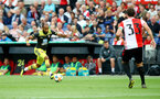 ROTTERDAM, NETHERLANDS - JULY 28: Nathan Redmond of Southampton during the pre season friendly match between Feyenoord and Southampton FC at De Kuip on July 28, 2019 in Rotterdam, Netherlands. (Photo by Matt Watson/Southampton FC via Getty Images)