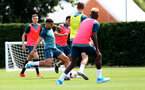 SOUTHAMPTON, ENGLAND - JULY 31: Ché Adams during a Southampton FC training session at the Staplewood Campus on July 31, 2019 in Southampton, England. (Photo by Matt Watson/Southampton FC via Getty Images)