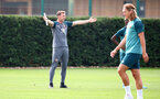 SOUTHAMPTON, ENGLAND - AUGUST 02: Ralph Hasenhuttl during a Southampton FC pre season training session at the Staplewood Campus on August 02, 2019 in Southampton, England. (Photo by Matt Watson/Southampton FC via Getty Images)