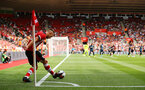 SOUTHAMPTON, ENGLAND - AUGUST 03: James Ward-Prowse takes a corner kick (left) during the Pre-Season Friendly match between Southampton FC and FC Kšln pictured at St. Mary's Stadium on August 03, 2019 in Southampton, England. (Photo by James Bridle - Southampton FC/Southampton FC via Getty Images) SOUTHAMPTON, ENGLAND - AUGUST 03: James Ward-Prowse takes a corner kick (left) during the Pre-Season Friendly match between Southampton FC and FC Köln pictured at St. Mary's Stadium on August 03, 2019 in Southampton, England. (Photo by James Bridle - Southampton FC/Southampton FC via Getty Images)