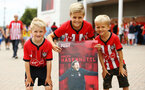 SOUTHAMPTON, ENGLAND - AUGUST 03: Southampton FC fans ahead of the Pre-Season Friendly match between Southampton FC and FC Kšln pictured at St. Mary's Stadium on August 03, 2019 in Southampton, England. (Photo by James Bridle - Southampton FC/Southampton FC via Getty Images) SOUTHAMPTON, ENGLAND - AUGUST 03: Southampton FC fans ahead of the Pre-Season Friendly match between Southampton FC and FC Köln pictured at St. Mary's Stadium on August 03, 2019 in Southampton, England. (Photo by James Bridle - Southampton FC/Southampton FC via Getty Images)