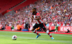 SOUTHAMPTON, ENGLAND - AUGUST 03: Ryan Bertrand of Southampton during the Pre-Season Friendly match between Southampton FC and FC Köln at St. Mary's Stadium on August 03, 2019 in Southampton, England. (Photo by Matt Watson/Southampton FC via Getty Images,)