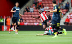 SOUTHAMPTON, ENGLAND - AUGUST 03: Michael Obafemi of Southampton during the Pre-Season Friendly match between Southampton FC and FC Köln at St. Mary's Stadium on August 03, 2019 in Southampton, England. (Photo by Matt Watson/Southampton FC via Getty Images,)
