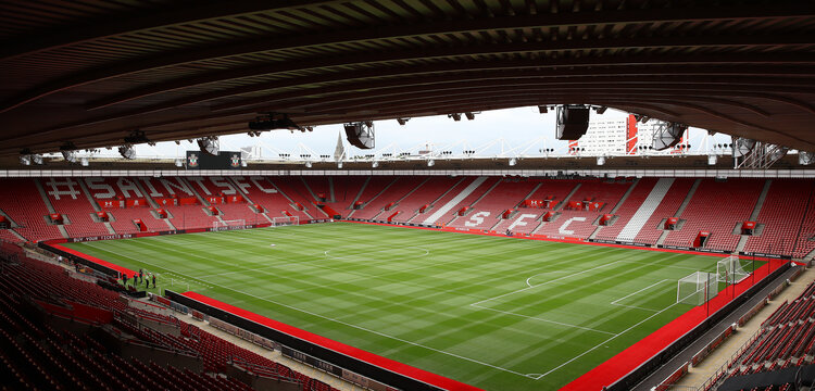 SOUTHAMPTON, ENGLAND - AUGUST 03: A general view ahead of the Pre-Season Friendly match between Southampton FC and FC Köln at St. Mary's Stadium on August 03, 2019 in Southampton, England. (Photo by Matt Watson/Southampton FC via Getty Images,)