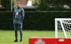 SOUTHAMPTON, ENGLAND - AUGUST 08: Ralph Hasenhuttl during a first team training session pictured at Staplewood Training Ground on August 06, 2019 in Southampton, England. (Photo by James Bridle - Southampton FC/Southampton FC via Getty Images)