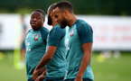 SOUTHAMPTON, ENGLAND - AUGUST 13: Michael Obafemi during a Southampton FC training session at the Staplewood Campus on August 13, 2019 in Southampton, England. (Photo by Matt Watson/Southampton FC via Getty Images)