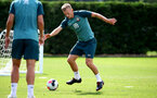 SOUTHAMPTON, ENGLAND - AUGUST 13: James Ward-Prowse during a Southampton FC training session at the Staplewood Campus on August 13, 2019 in Southampton, England. (Photo by Matt Watson/Southampton FC via Getty Images)