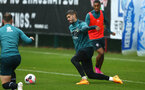 SOUTHAMPTON, ENGLAND - AUGUST 14: Fraser Forster during a Southampton FC Training session pictured on August 14, 2019 in Southampton, England. (Photo by James Bridle - Southampton FC/Southampton FC via Getty Images)