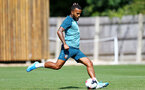 SOUTHAMPTON, ENGLAND - AUGUST 15: Ryan Bertrand during a Southampton FC Training session pictured on August 15, 2019 in Southampton, England. (Photo by James Bridle - Southampton FC/Southampton FC via Getty Images)