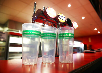 Reusable cups introduced at St Mary's