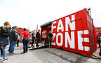 SOUTHAMPTON, ENGLAND - AUGUST 17: Fan Zone during the Premier League match between Southampton FC and Liverpool FC at St Mary's Stadium on August 17, 2019 in Southampton, United Kingdom. (Photo by James Bridle - Southampton FC/Southampton FC via Getty Images)