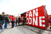 Fanzone closed for Burnley