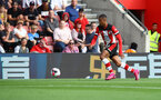 SOUTHAMPTON, ENGLAND - AUGUST 17: Yan Valery of Southampton during the Premier League match between Southampton FC and Liverpool FC at St Mary's Stadium on August 17, 2019 in Southampton, United Kingdom. (Photo by Matt Watson/Southampton FC via Getty Images)
