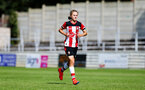 CHESHAM, ENGLAND - AUGUST 18 :  Shannon Aluebury during the Womens match between Chesham United FC and Southampton FC pictured at Chesham United FC Ground, 2019 in Buckinghamshire, England. (Photo by James Bridle - Southampton FC/Southampton FC via Getty Images)