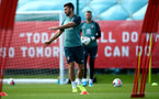 SOUTHAMPTON, ENGLAND - AUGUST 20: Shane Long during a Southampton FC training session at the Staplewood Campus on August 20, 2019 in Southampton, England. (Photo by Matt Watson/Southampton FC via Getty Images)