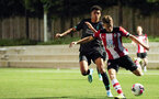 Jake Vokins. Southampton U23s v Liverpool U23s, Staplewood Campus, Marchwood, Southampton            Picture: Chris Moorhouse       Monday 26th August 2019