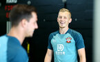 SOUTHAMPTON, ENGLAND, AUGUST 28, James Ward-Prowse during a Southampton FC training session at the Staplewood Campus, Southampton