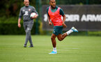 SOUTHAMPTON, ENGLAND, AUGUST 28, Ryan Bertrand during a Southampton FC training session at the Staplewood Campus, Southampton