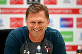 Press conference (part two): Hasenhüttl ahead of United
