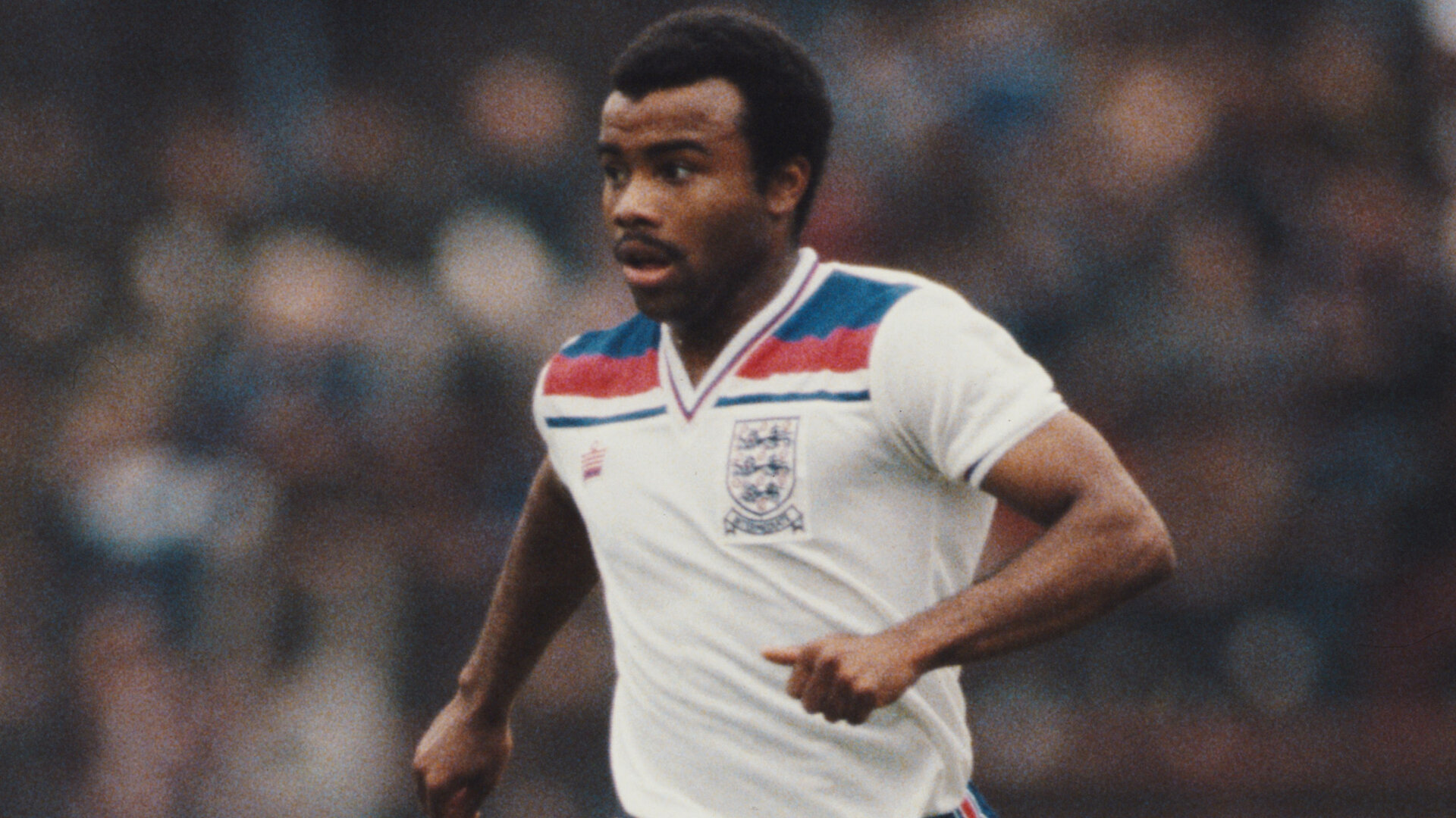 UNITED KINGDOM - JANUARY 01: England winger Danny Wallace in action during an England Under 21 match circa 1983  (Photo Allsport/Getty Images)