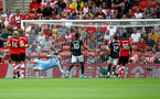 SOUTHAMPTON, ENGLAND - AUGUST 31: Manchester United go 1-0 up during the Premier League match between Southampton FC and Manchester United at St Mary's Stadium on August 31, 2019 in Southampton, United Kingdom. (Photo by Matt Watson/Southampton FC via Getty Images)