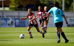 SOUTHAMPTON, ENGLAND - SEPTEMBER 01: during the match between Southampton FC Women and Brislington Women at AFC Totton's Testwood Community Stadium, 2019 in Southampton, United Kingdom. (Photo by Matt Watson/Southampton FC)