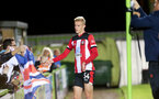 Christoph Klarer. Forest Green Rovers v Southampton U23s, The New Lawn, Nailsworth, Gloucestershire. (Picture by Chris Moorhouse/Southampton FC via Getty Images)    Tuesday 3rd September 2019