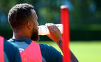 SOUTHAMPTON, ENGLAND - SEPTEMBER 05: Wow Hydrate bottles during a Southampton FC training session at the Staplewood Campus on September 05, 2019 in Southampton, England. (Photo by Matt Watson/Southampton FC via Getty Images)