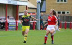 Sam Burt during the FA Women's National League, Div One South West match between Southampton FC Women and Swindon Town, at the Fairford Town Football Club, 8th September 2019 (pic by Isabelle Field)