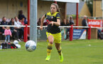 Georgie Freeland during the FA Women's National League, Div One South West match between Southampton FC Women and Swindon Town, at the Fairford Town Football Club, 8th September 2019 (pic by Isabelle Field)