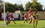 Sophia Pharoah during the FA Women's National League, Div One South West match between Southampton FC Women and Swindon Town, at the Fairford Town Football Club, 8th September 2019 (pic by Isabelle Field)