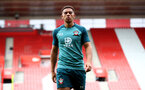 SOUTHAMPTON, ENGLAND - SEPTEMBER 12: Ché Adams during a Southampton FC training session at St Mary's stadium on September 12, 2019 in Southampton, England. (Photo by Matt Watson/Southampton FC via Getty Images)