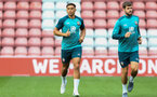 during 1st Team training session at St Marys Stadium, Southampton, 12th September 2019 (pic by Isabelle Field)